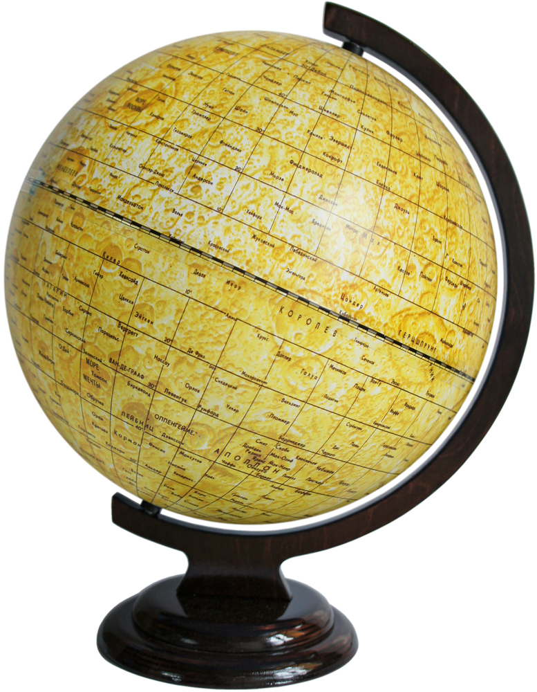 Глобусный мир Глобус Луны, диаметр 32 см -  Глобусы