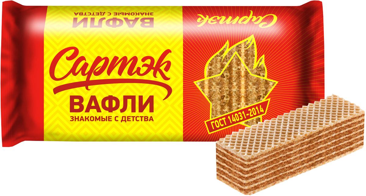 Конфэшн Сартэк вафли, 200 г loacker vanille вафли 225 г