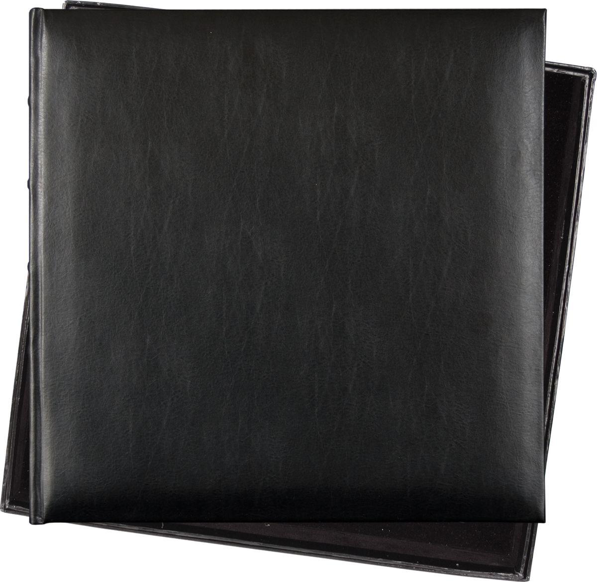 """Фотоальбом Innova """"Bonded Leather"""" имеет обложку из плотного картона и винила. Альбом рассчитан на 120 страниц размером 36 х 36 см. Страницы изготовлены из плотной бумаги и скреплены книжным переплетом. Фотоальбом является универсальным подарком к любому празднику. Родным, близким и просто знакомым будет приятно помещать фотографии в этот альбом."""