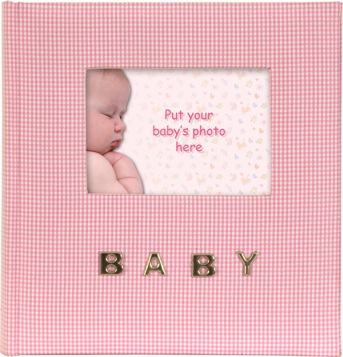 Фотоальбом Innova Baby Gingham, цвет: розовый, 100 фотографий, 10 x 15 см. Q9306337Q9306337Детский фотоальбом Innova имеет обложку из текстиля.Альбом рассчитан на 100 фотографий форматом 10 х 15 см. Для фотографий предусмотрено поле для записей. Страницы изготовлены из плотной бумаги и скреплены книжным переплетом. Фотоальбом является универсальным подарком к любому празднику. Родным, близким и просто знакомым будет приятно помещать фотографии в этот альбом.