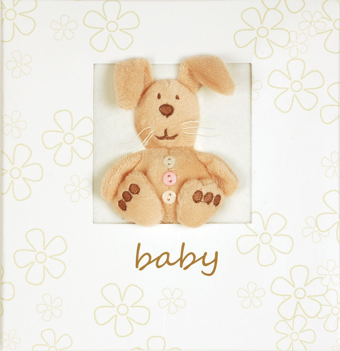 Фотоальбом Innova Plush Baby, цвет: белый, 160 фотографий, 10 x 15 см