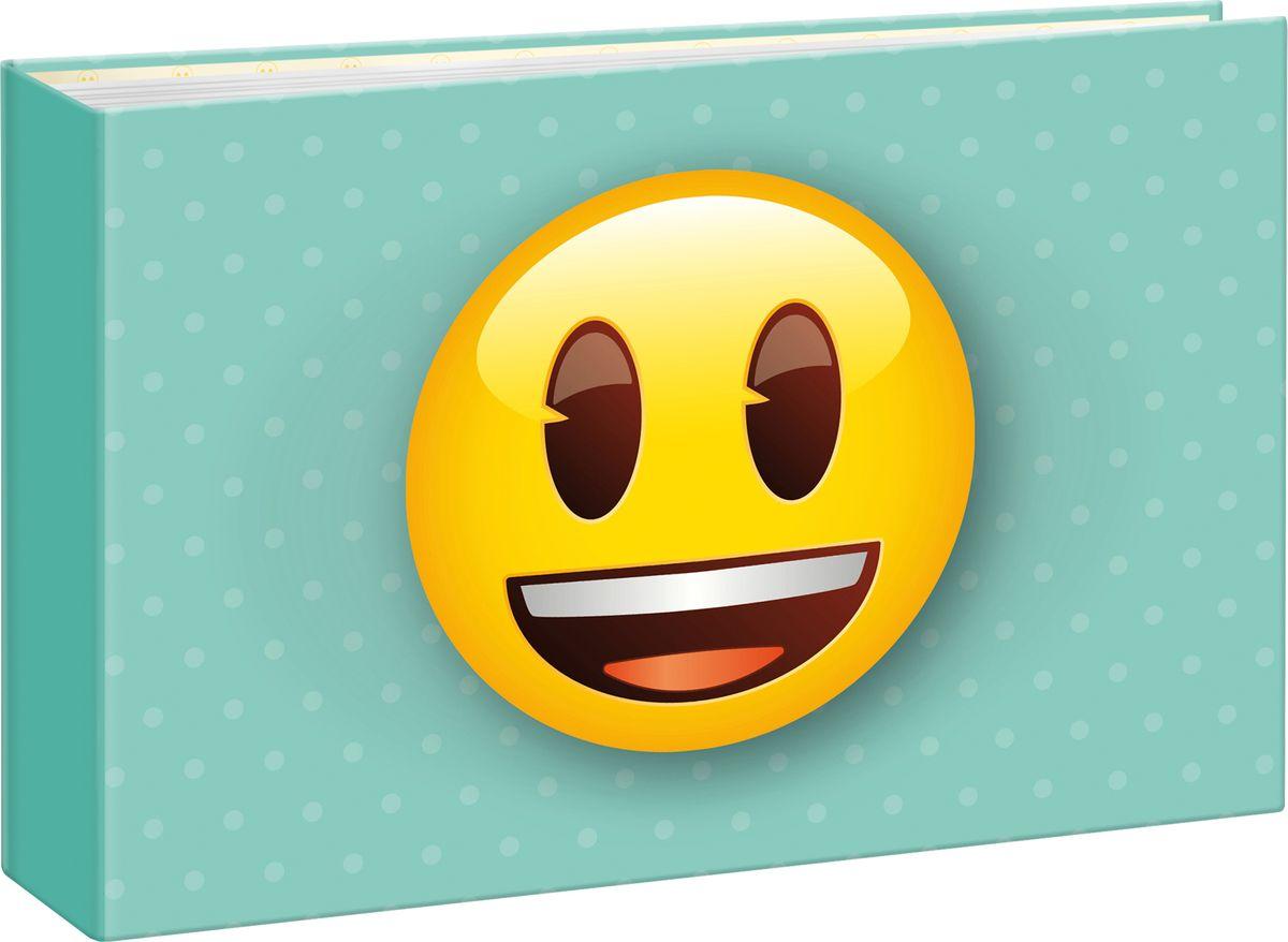 Фотоальбом Innova Emoji Mini Album Smiley, 36 фотографий, 10 x 15 смQ4007993Дизайн фотоальбома посвящен любимым смайликам Emoji. Фотоальбом рассчитан на 36 фотографий форматом 10х15.