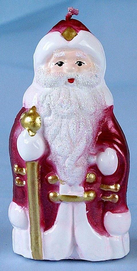 Свеча декоративная Омский свечной завод Дед Мороз, цвет: красный, высота 7,5 см1612540Невозможно представить нашу жизнь без праздников! Мы всегда ждем их и предвкушаем, обдумываем, как проведем памятный день, тщательно выбираем подарки и аксессуары, ведь именно они создают и поддерживают торжественный настрой. Свеча Дед Мороз с посохом средняя - это отличный выбор, который привнесет атмосферу праздника в ваш дом!Невозможно представить нашу жизнь без праздников! Мы всегда ждем их и предвкушаем, обдумываем, как проведем памятный день, тщательно выбираем подарки и аксессуары, ведь именно они создают и поддерживают торжественный настрой. Свеча Дед Мороз с посохом средняя - это отличный выбор, который привнесет атмосферу праздника в ваш дом!Какой новогодний стол без свечей? Вместе с мандаринами, шампанским и еловыми ветвями они создадут сказочную атмосферу, а их притягательное пламя подарит ощущение уюта и тепла.А еще это отличная идея для подарка! Свеча Дед Мороз с посохом средняя оградит от невзгод и поможет во всех начинаниях в будущем году.Пусть удача сопутствует вам и вашим близким!Какой новогодний стол без свечей? Вместе с мандаринами, шампанским и еловыми ветвями они создадут сказочную атмосферу, а их притягательное пламя подарит ощущение уюта и тепла.А еще это отличная идея для подарка! Свеча Дед Мороз с посохом средняя оградит от невзгод и поможет во всех начинаниях в будущем году.Пусть удача сопутствует вам и вашим близким!Каждому хозяину периодически приходит мысль обновить свою квартиру, сделать ремонт, перестановку или кардинально поменять внешний вид каждой комнаты. Свеча Дед Мороз с посохом средняя - привлекательная деталь, которая поможет воплотить вашу интерьерную идею, создать неповторимую атмосферу в вашем доме. Окружите себя приятными мелочами, пусть они радуют глаз и дарят гармонию.Каждому хозяину периодически приходит мысль обновить свою квартиру, сделать ремонт, перестановку или кардинально поменять внешний вид каждой комнаты. Свеча Дед Мороз с пос
