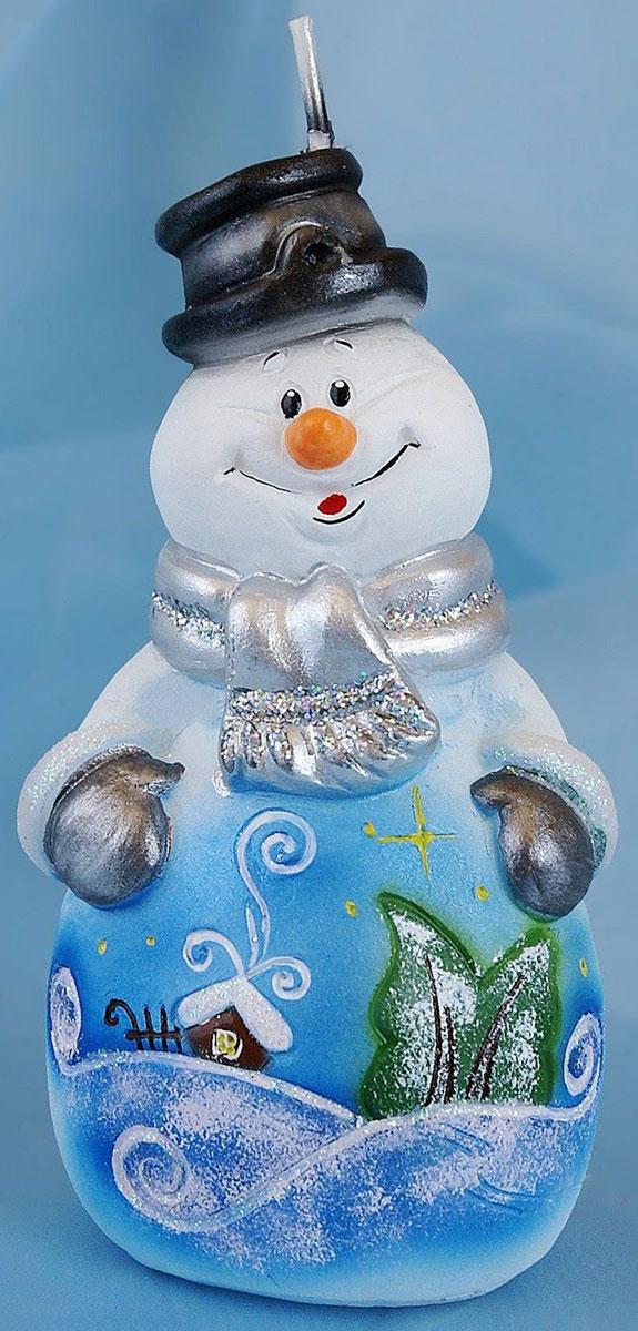 Свеча декоративная Омский свечной завод Снеговик сказочный, цвет: белый, голубой, высота 12 см1612560Невозможно представить нашу жизнь без праздников! Мы всегда ждем их и предвкушаем, обдумываем, как проведем памятный день, тщательно выбираем подарки и аксессуары, ведь именно они создают и поддерживают торжественный настрой. Свеча Снеговик сказочный - это отличный выбор, который привнесет атмосферу праздника в ваш дом!Невозможно представить нашу жизнь без праздников! Мы всегда ждем их и предвкушаем, обдумываем, как проведем памятный день, тщательно выбираем подарки и аксессуары, ведь именно они создают и поддерживают торжественный настрой. Свеча Снеговик сказочный - это отличный выбор, который привнесет атмосферу праздника в ваш дом!Какой новогодний стол без свечей? Вместе с мандаринами, шампанским и еловыми ветвями они создадут сказочную атмосферу, а их притягательное пламя подарит ощущение уюта и тепла.А еще это отличная идея для подарка! Свеча Снеговик сказочный оградит от невзгод и поможет во всех начинаниях в будущем году.Пусть удача сопутствует вам и вашим близким!Какой новогодний стол без свечей? Вместе с мандаринами, шампанским и еловыми ветвями они создадут сказочную атмосферу, а их притягательное пламя подарит ощущение уюта и тепла.А еще это отличная идея для подарка! Свеча Снеговик сказочный оградит от невзгод и поможет во всех начинаниях в будущем году.Пусть удача сопутствует вам и вашим близким!Каждому хозяину периодически приходит мысль обновить свою квартиру, сделать ремонт, перестановку или кардинально поменять внешний вид каждой комнаты. Свеча Снеговик сказочный - привлекательная деталь, которая поможет воплотить вашу интерьерную идею, создать неповторимую атмосферу в вашем доме. Окружите себя приятными мелочами, пусть они радуют глаз и дарят гармонию.Каждому хозяину периодически приходит мысль обновить свою квартиру, сделать ремонт, перестановку или кардинально поменять внешний вид каждой комнаты. Свеча Снеговик сказочный - привлекательная деталь, 