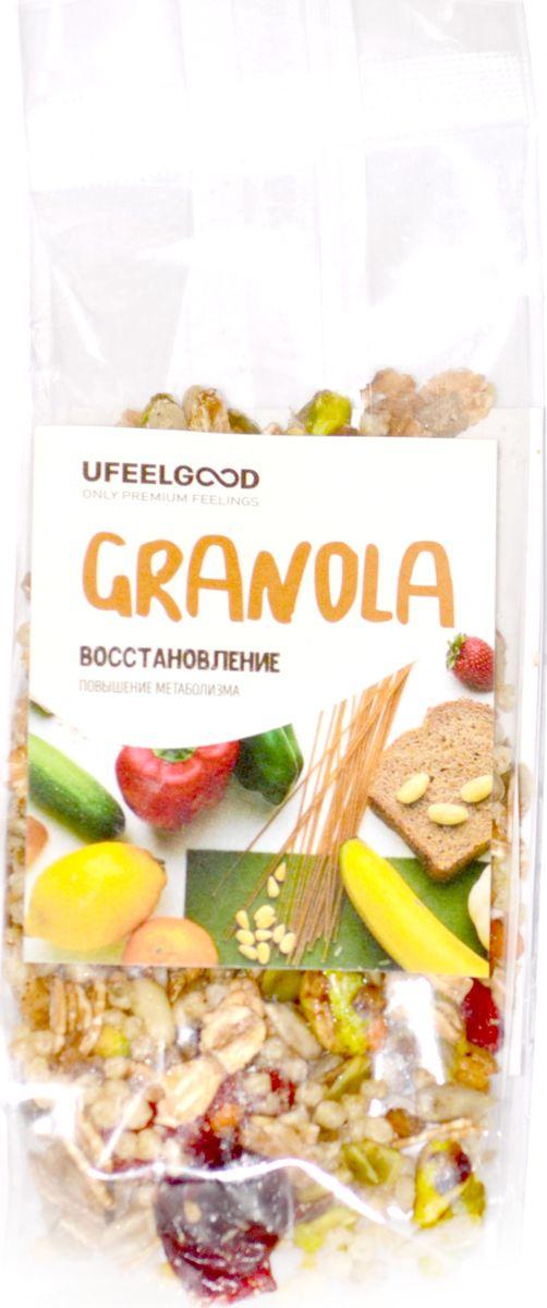 UFEELGOOD Granola восстановление повышение метаболизма, 40 г