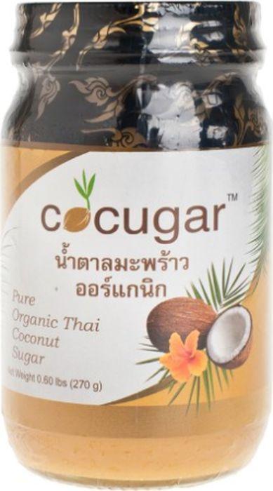 Cocugar Pure Organic Thai Coconut Sugar органический кокосовый сахар паста, 270 г3121Кокосовый сахар получен из сока соцветий кокосовой пальмы. Собранный нектар нагревают до получения густого сиропа, который остывает и после превращается в твердую карамелизированную ароматную пасту. Такой способ приготовления сохраняет все полезные свойства кокоса. Кокосовый сахар - лучший натуральный подсластитель, который не содержит добавок и консервантов. Он обладает мягкой кремовой текстурой, ярким вкусом и нежным кокосовым ароматом.Стоит отметить, что кокосовый сахар имеет низкий гликемический индекс = 35, который делает его еще полезнее. Когда индекс белого и коричневого сахара имеет уровень от 88 и выше.Замена обыкновенного сахара на кокосовый поможет сохранить фигуру и нормализовать обмен веществ. Органический кокосовый сахар содержит комплекс полезных веществ, витаминов и аминокислот. Кокосовый сахар способствует улучшению работы сердца, укрепляет стенки сосудов, а также нормализует нервную систему. Рекомендации по применению: Кокосовый сахар (паста) используют в приготовлении выпечки, десертов и других блюд. Добавьте немного кокосовой сахарной пасты в кашу, творог или полезный смузи.