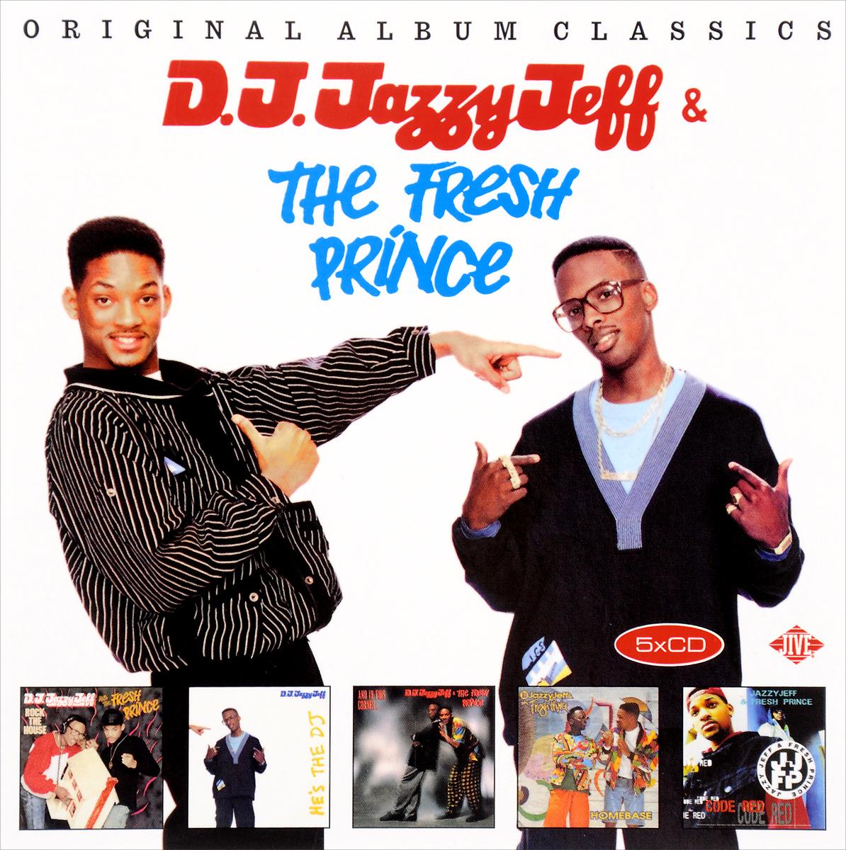 DJ Jazzy Jeff,The Fresh Prince DJ Jazzy Jeff & The Fresh Prince. Original Album Classics (5 CD) cd jeff buckley grace