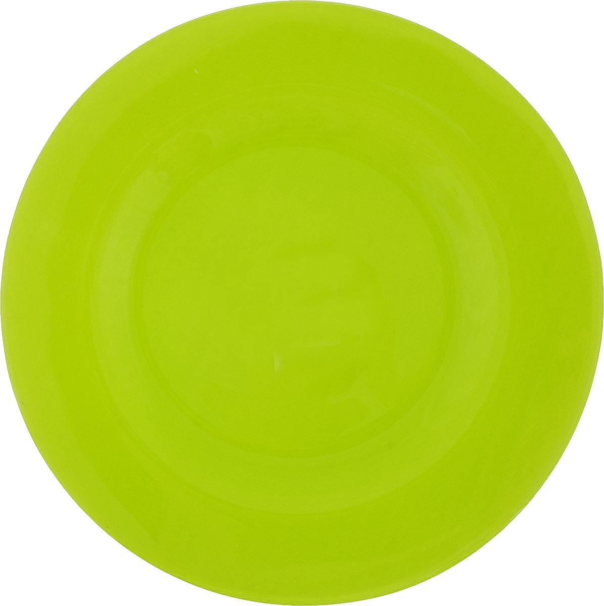 Тарелка Pasabahce Грин Виллаж, цвет: зеленый, диаметр 26 см10328SLBD14Тарелка Pasabahce Грин Виллаж выполнена из качественного стекла. Тарелка прекрасно подойдет в качестве сервировочного блюда для фруктов, десертов, закусок, торта и другого. Диаметр тарелки: 26 см.