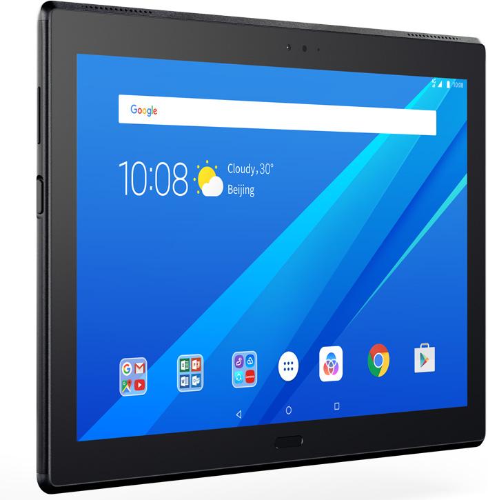 Lenovo Tab 4 10 Plus 16GB (TB-X704L), BlackZA2R0018RUСемейный 10,1-дюймовый планшет премиум-класса, тонкий, легкий и прочный, полный родительский контрольКак выбрать планшет для ребенка. Статья OZON Гид
