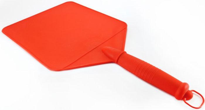 Разделочная доска-опахало для шашлыка Libra Plast. LP0020LP0020Разделочная доска может использоваться так же как опахало для шашлыка благодаря составу материала из полистирола.