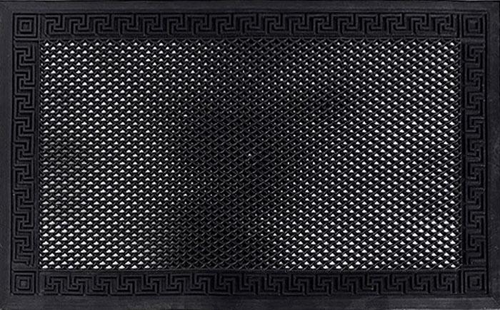 Коврик придверный Libra Plast, цвет: черный, 60 х 40 смLP0041Коврик придверный Libra Plast станет прекрасным украшением вашего интерьера.Придверный коврик выполнен из специального материала. Не подвергается воздействию высоких и низких температур .