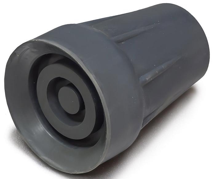 Amrus Наконечник резиновый на трость, внутр. диам. 15 мм AMСТ82AMСТ82Характеристики:Внутренний диаметр 15 мм.; Максимальный внешний диаметр 48 мм.; Внутренний металлический вкладыш.Изготовлен из высокопрочной износостойкой резины.