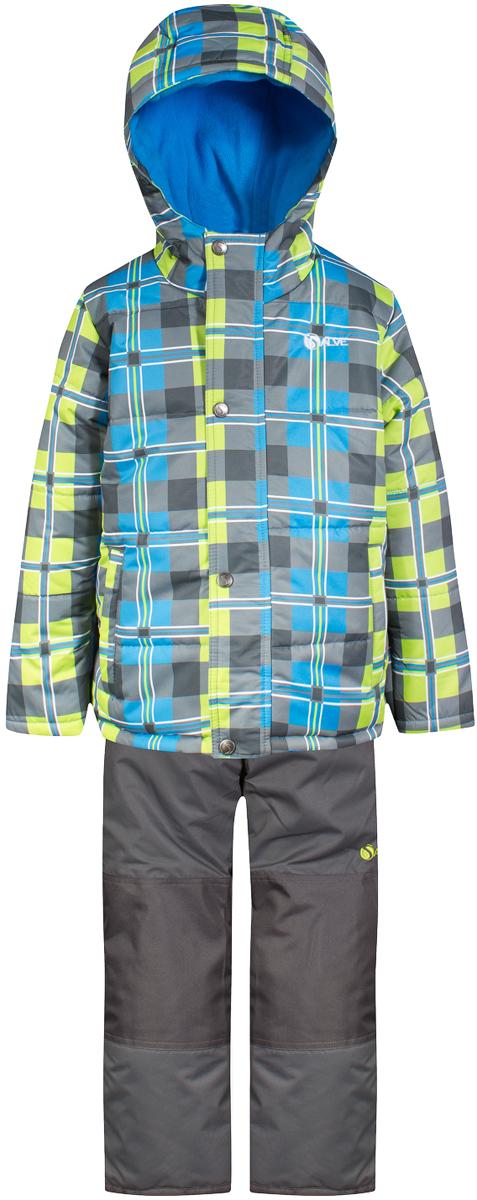 Комплект верхней одежды для мальчика Salve by Gusti, цвет: зеленый, голубой. SWB 4648-TENDER SHOOTS. Размер 89SWB 4648-TENDER SHOOTSТкань верха куртки: Мембрана с коэффициентом водонепроницаемости 2000 мм и коэффициентом паропроницаемости 2000 г/м2, одежда ветронепродуваемая. Благодаря тонкому полиуретановому напылению изнутри не промокает даже при сильной влаге, но при этом дышит (защита от влаги не препятствует циркуляции воздуха). Плотность ткани Т190 обеспечивает высокую износостойкость. Утеплитель: Тек-Полифилл (Tech-Polyfil) - 283г/м2, силиконизированый полиэстер изготовленный по новейшим технологиям, удерживает тепло при температуре до -30 С. Очень мягкий , создающий объем для сохранения тепла, более плотный на груди и спине (283г/м2) и менее плотный на рукавах (230г/м2). Высокоэффективный, обладающий повышенной устойчивостью к сжатию (после стирки в стиральной машине изделие достаточно встряхнуть), обеспечивающий хорошую вентиляцию, обладающий прекрасным, теплоизолирующими свойствами синтетический материал. Главные преимущества Тек-Полифила – одежда более пушистая на ощупь и менее тяжелое по весу. Подкладка: Высокотехнологичный флис COOLQUICK. Специальное кручение нитей позволяет ткани максимально впитывать влагу и увеличивать испаряемость с поверхности, т.е. выпустить пар, но не пропускает влагу снаружи, что обеспечивает комфорт даже при высоких физических нагрузках. Этот материал ранее был разработан специально для спортсменов, которые испытывали сильные нагрузки во время активного движения, а теперь принес комфорт и тепло в нашу повседневную жизнь. Это особенно важно для детей, когда они гуляют на свежем воздухе, чтобы тело всегда оставалось сухим и теплым. В этой одежде им будет тепло в течение длительного времени и нет необходимости надевать теплый свитер. Ткань верха полукомбинезона: Таслан ( Taslan )- мембрана с коэффициентом водонепроницаемости 2000 мм и коэффициентом паропроницаемости 2000 г/м2, одежда ветронепродуваемая. Благодаря тонкому полиурета