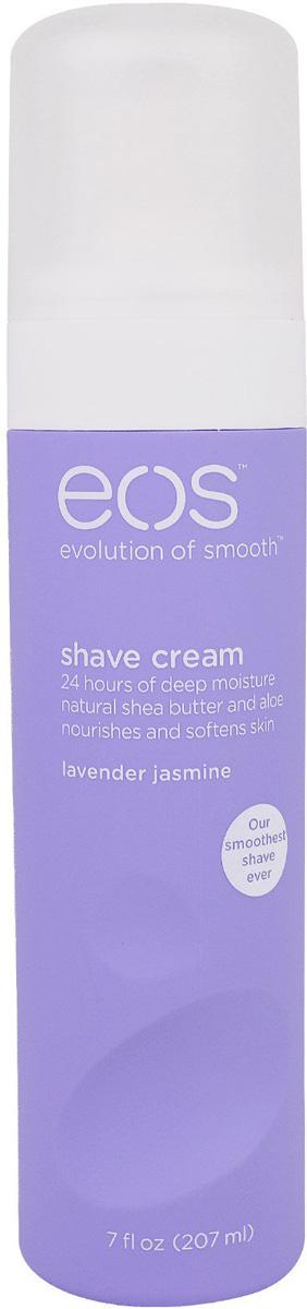 EOS Крем для бритья Lavender Jasmine, 207 мл002151Увлажняющий крем для бритья тела с ароматом лаванды и жасмина для женщин. Не содержит парабенов. Применяется в косметических целях для увлажнения и питания кожи во время бритья.