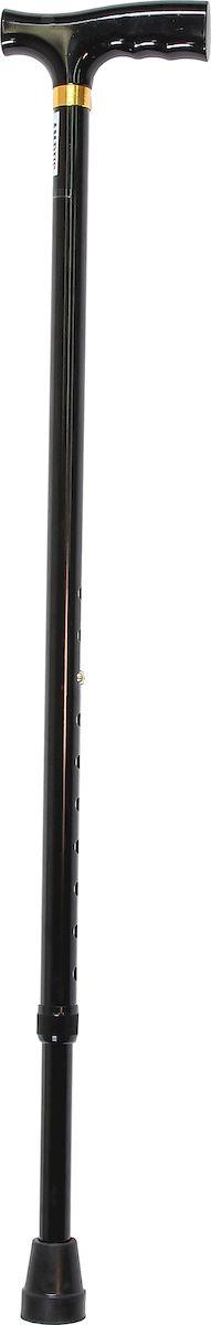Amrus Трость телескопическая металлическая с ортопедической рукояткой (черный цвет) AMCT25 BKAMCT25 BKХарактеристики: Максимальная длина 99 см.; Минимальная длина 74 см.;Шаг регулировки высоты через 2,5 см.; Максимальная нагрузка до 100 кг.; Цветовая гамма: черный; Срок службы изделия: не менее 2 лет; Срок гарантии: 12 месяцев.Описание:Данный тип тростей характеризуется разнообразным дизайном, качественным исполнением рукояток и трубок.