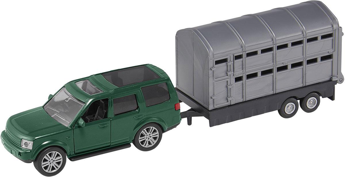 HTI Вездеход Roadsterz с прицепом tomy прицеп для перевозки лошадей с лошадью и жеребенком с 3 лет