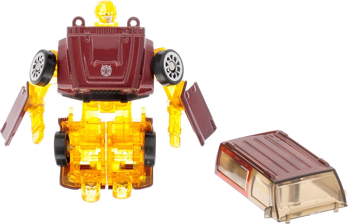 Yako Робот-трансформер цвет желтый бордовый хочу машину вторые руки