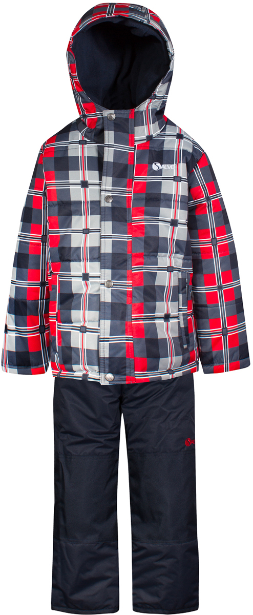 Комплект верхней одежды для мальчика Salve by Gusti, цвет: темно-синий. SWB 4648-NAVY. Размер 89SWB 4648-NAVYКомплект Salve by Gusti состоити из куртки и комбинезона. Ткань верха куртки: Мембрана с коэффициентом водонепроницаемости 2000 мм и коэффициентом паропроницаемости 2000 г/м2, одежда ветронепродуваемая. Благодаря тонкому полиуретановому напылению изнутри не промокает даже при сильной влаге, но при этом дышит (защита от влаги не препятствует циркуляции воздуха). Плотность ткани Т190 обеспечивает высокую износостойкость. Утеплитель: Тек-Полифилл (Tech-Polyfil) - 283г/м2, силиконизированый полиэстер изготовленный по новейшим технологиям, удерживает тепло при температуре до -30 С. Очень мягкий , создающий объем для сохранения тепла, более плотный на груди и спине (283г/м2) и менее плотный на рукавах (230г/м2). Высокоэффективный, обладающий повышенной устойчивостью к сжатию (после стирки в стиральной машине изделие достаточно встряхнуть), обеспечивающий хорошую вентиляцию, обладающий прекрасным, теплоизолирующими свойствами синтетический материал. Главные преимущества Тек-Полифила – одежда более пушистая на ощупь и менее тяжелое по весу. Подкладка: Высокотехнологичный флис COOLQUICK. Специальное кручение нитей позволяет ткани максимально впитывать влагу и увеличивать испаряемость с поверхности, т.е. выпустить пар, но не пропускает влагу снаружи, что обеспечивает комфорт даже при высоких физических нагрузках. Этот материал ранее был разработан специально для спортсменов, которые испытывали сильные нагрузки во время активного движения, а теперь принес комфорт и тепло в нашу повседневную жизнь. Это особенно важно для детей, когда они гуляют на свежем воздухе, чтобы тело всегда оставалось сухим и теплым. В этой одежде им будет тепло в течение длительного времени и нет необходимости надевать теплый свитер. Ткань верха полукомбинезона: Таслан ( Taslan )- мембрана с коэффициентом водонепроницаемости 2000 мм и коэффициентом паропроницаемости 2000 г/м2, одежда ветронепроду