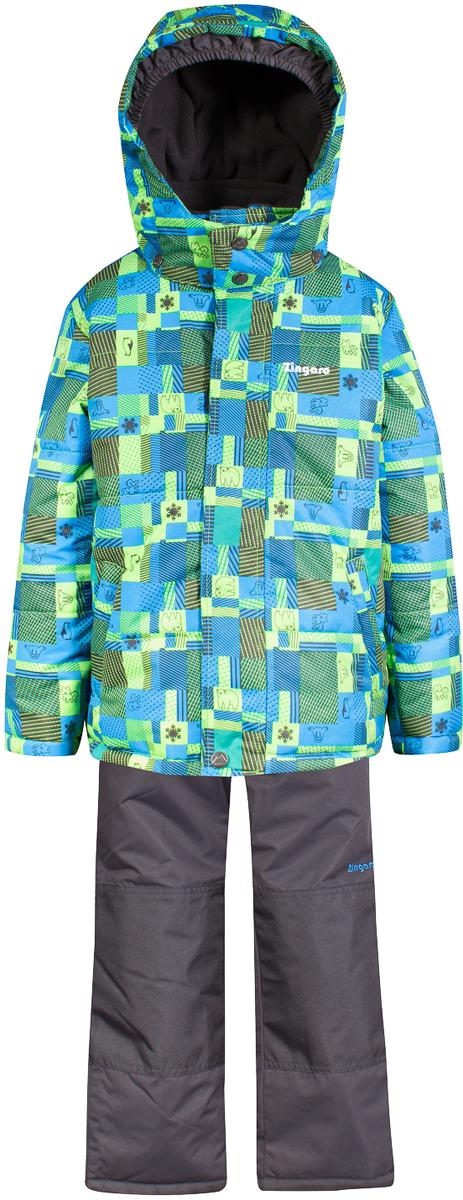 Комплект верхней одежды для мальчика Zingaro by Gusti, цвет: синий. ZWB 4607-BRILLIANT BLUE. Размер 100ZWB 4607-BRILLIANT BLUEКомплект Zingaro by Gusti выполнен из мембраны с коэффициентом водонепроницаемости 2000 мм и коэффициентом паропроницаемости 2000 г/м2, одежда ветронепродуваемая. Благодаря тонкому полиуретановому напылению изнутри не промокает даже при сильной влаге, но при этом дышит (защита от влаги не препятствует циркуляции воздуха). Плотность ткани Т190 обеспечивает высокую износостойкость. Утеплитель: Тек-Полифилл (Tech-Polyfil) - 230г/м2, силиконизированый полиэстер изготовленный по новейшим технологиям, удерживает тепло при температуре до -30 С. Очень мягкий, создающий объем для сохранения тепла. Высокоэффективный, обладающий повышенной устойчивостью к сжатию (после стирки в стиральной машине изделие достаточно встряхнуть), обеспечивающий хорошую вентиляцию, обладающий прекрасным, теплоизолирующими свойствами синтетический материал. Главные преимущества Тек-Полифила – одежда более пушистая на ощупь и менее тяжелое по весу. Подкладка: высокотехнологичный флис COOLQUICK. Специальное кручение нитей позволяет ткани максимально впитывать влагу и увеличивать испаряемость с поверхности, т.е. выпустить пар, но не пропускает влагу снаружи, что обеспечивает комфорт даже при высоких физических нагрузках. Этот материал ранее был разработан специально для спортсменов, которые испытывали сильные нагрузки во время активного движения, а теперь принес комфорт и тепло в нашу повседневную жизнь. Это особенно важно для детей, когда они гуляют на свежем воздухе, чтобы тело всегда оставалось сухим и теплым. В этой одежде им будет тепло в течение длительного времени и нет необходимости надевать теплый свитер. Верхняя одежда ZINGARO просто чистится. Стирать одежду придется очень редко – только при сильных загрязнениях. Если малыш забрался в лужу или грязь, просто вытрите пятно влажной тряпкой.