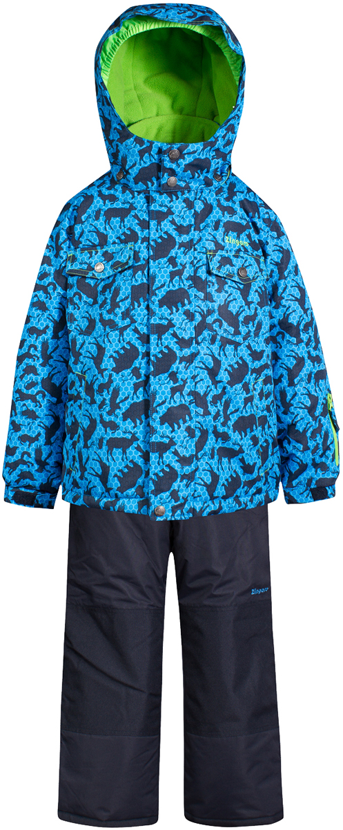 Комплект верхней одежды для мальчика Zingaro by Gusti, цвет: синий. ZWB 4614-BRILLIANT BLUE. Размер 96