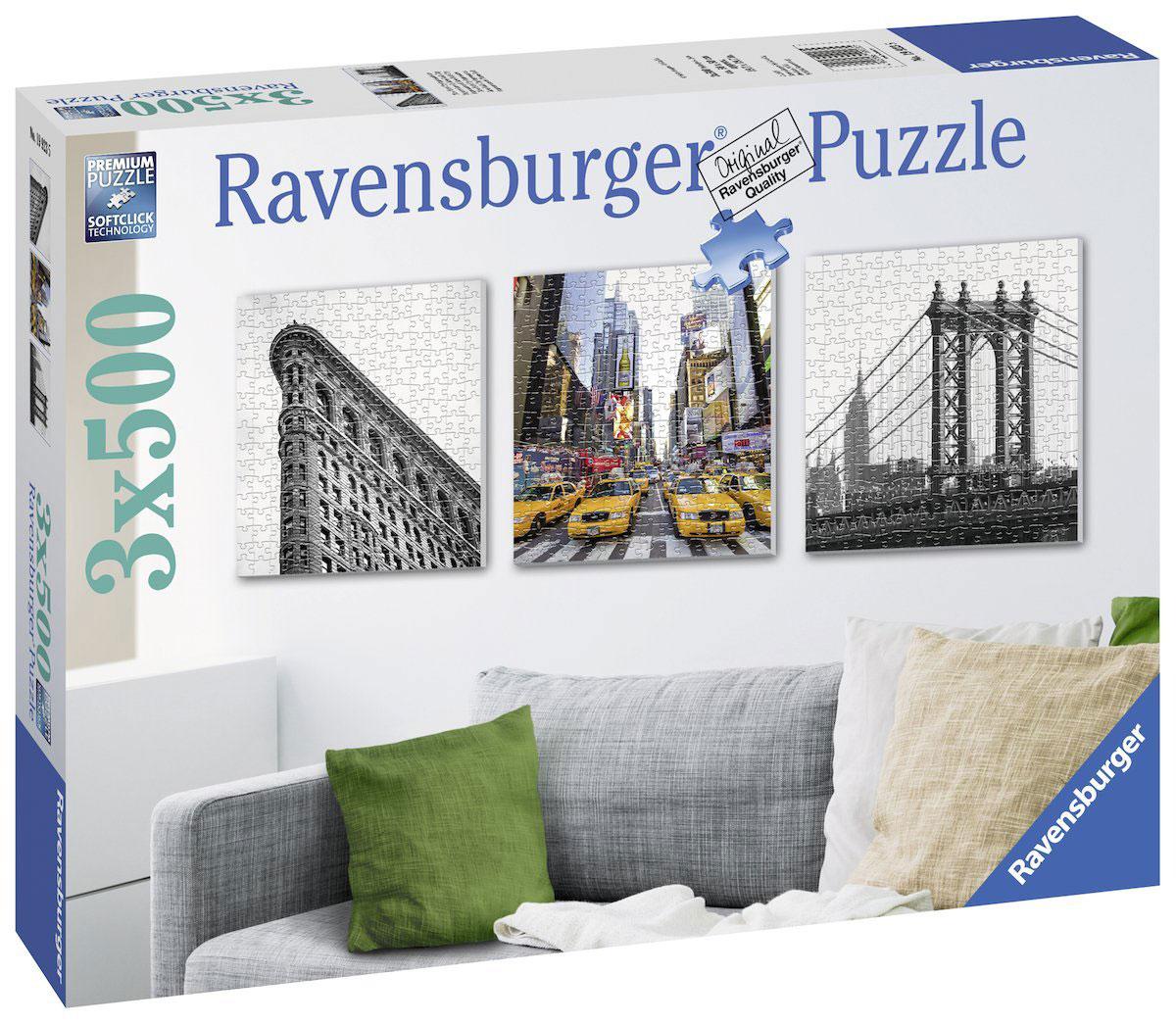 Ravensburger Пазл Воспоминания о Нью-Йорке 3 в 1