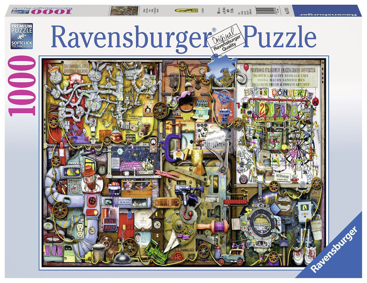 Ravensburger Пазл Шкаф изобретателя