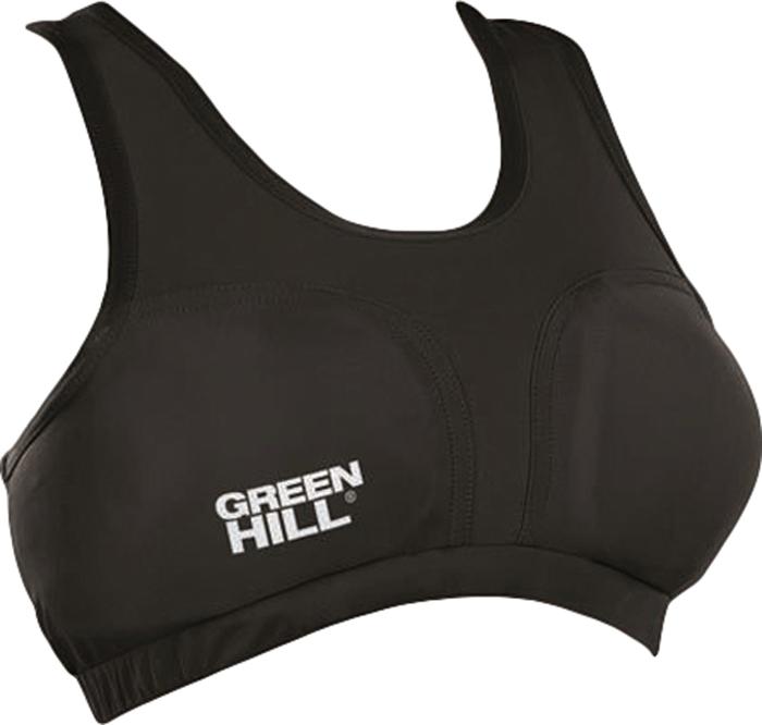 Защита груди женская Green Hill, цвет: черный. Размер XLCGT-109Объем груди 78см,объем резинки 73,см,ширина защиты меду чашечками 17смВерх защиты из эластичной ткани, лайкра/полиэстер. Защитный наполнитель - поролон.