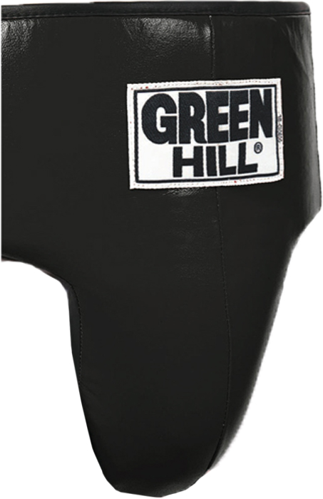 Защита паха Green Hill Pro Boxing, цвет: черный. Размер XLGGР-6040Защита паха PRO BOXING выполнена из натуральной кожи. Плотный наполнитель по всему периметру талии обеспечивает надёжную защиту брюшной полости.Длина кожаного пояса 83 см, плюс длина резинки 110см без растяжения, ширина 34 см. Выполнен из натуральной кожи, внутри защитная подушка толщиной 2,5см.