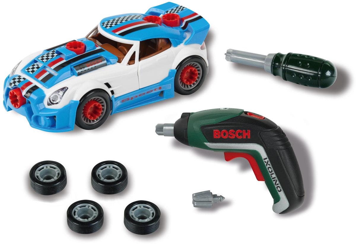 Klein Набор тюнинг-ателье Bosch с машиной и шуруповертом - Игровые наборы