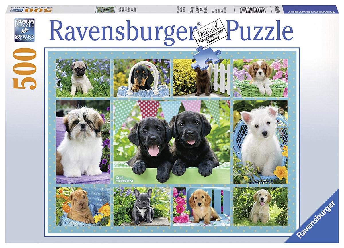 Ravensburger Пазл Милые щенки