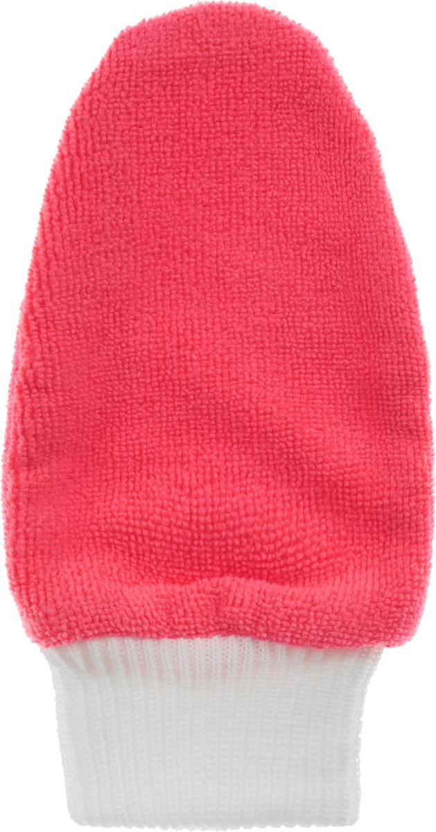 Рукавица для полировки автомобиля Eva, цвет: розовый, 25 х 13 смТ03_розовыйРукавица Eva, изготовленная из микрофибры (полиэстера, полиамида), предназначена для очистки и полировки стеклянных, металлических и других твердых поверхностей автомобиля. Рукавицу достаточно смочить водой для очистки поверхности от жира и других загрязнений. Не царапает и не оставляет разводов.