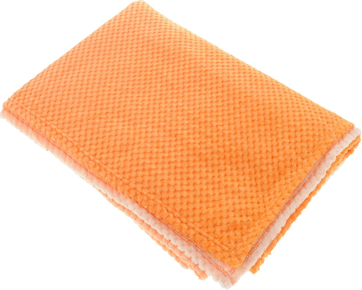 Покрывало Guten Morgen Мимоза, цвет: оранжевый, 150 х 200 смПКМим-150-200_оранжевыйПокрывало Guten Morgen Мимоза, выполненное из корал-флиса (100% полиэстера), гармонично впишется в интерьер вашего дома и создаст атмосферу уюта и комфорта. Благодаря мягкой и приятной текстуре, глубокому и насыщенному цвету, покрывало станет модной, практичной и уютной деталью вашего интерьера.Такое покрывало согреет в прохладную погоду и будет превосходно дополнять интерьер вашей спальни. Высочайшее качество материала гарантирует безопасность не только взрослых, но и самых маленьких членов семьи.Покрывало может подчеркнуть любой стиль интерьера, задать ему нужный тон - от игривого до ностальгического. Покрывало - это такой подарок, который будет всегда актуален, особенно для ваших родных и близких, ведь вы дарите им частичку своего тепла!