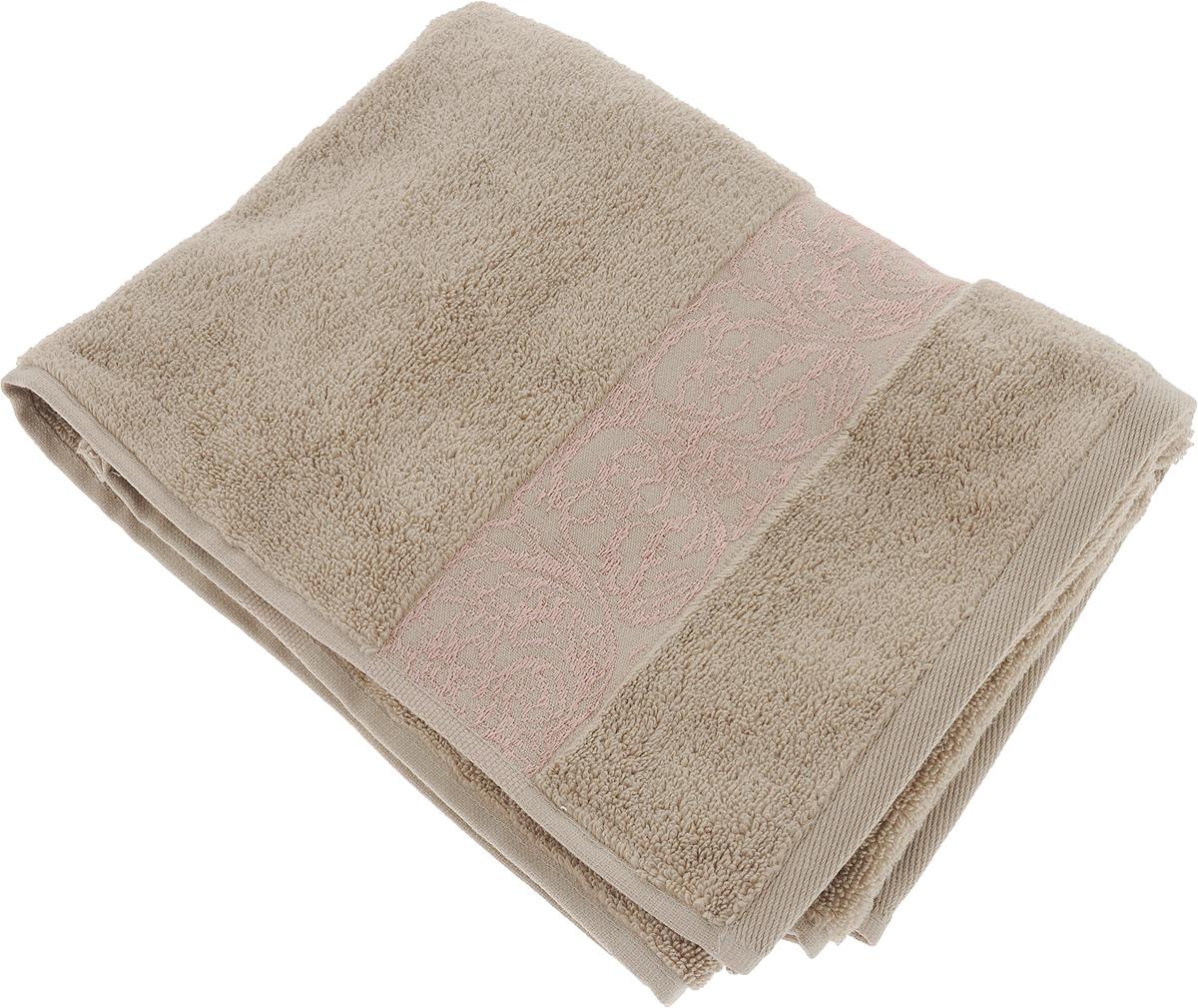 Полотенце Arya Jewel, цвет: коричневый, 50 x 90 смTR1002164_КоричневыйТурецкое полотенце от компании Ария из махры .Компания Arya является признанным турецким лидером на рынке постельных принадлежностей и текстиля для дома. Поэтому Вы можете быть уверены, что приобретенные текстильные изделия доставит Вам и Вашим близким удовольствие