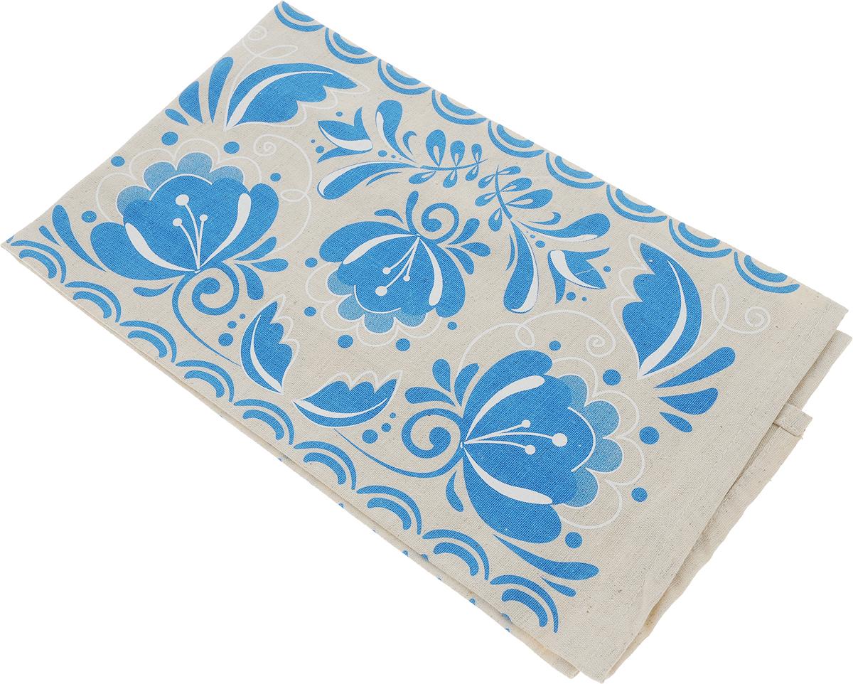 Полотенце кухонное От Шефа Синие цветы, 45 х 60 см627-003_синие цветы/полуленКухонное полотенце От Шефа Синие цветы изготовлено из льна и хлопка и оформлено ярким рисунком. Полотенце идеально впитывает влагу и сохраняет свою мягкость даже после многих стирок. Полотенце От Шефа Синие цветы - отличный вариант для практичной и современной хозяйки.
