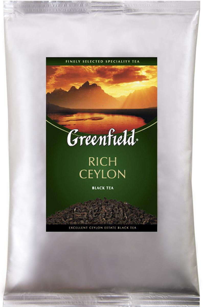Greenfield Rich Ceylon черный листовой чай, 250 г