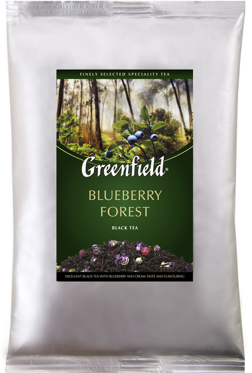 Greenfield Blueberry Forest черный листовой чай, 250 г greenfield blueberry forest черный листовой чай 250 г