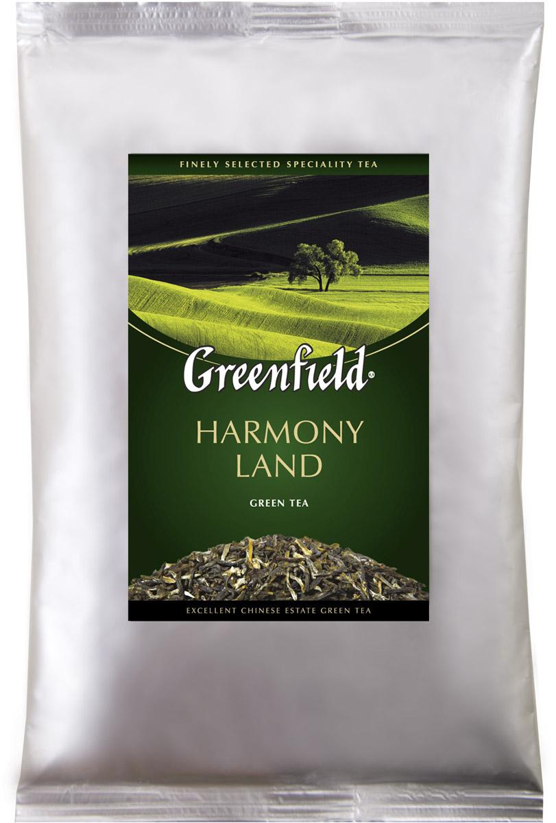 Greenfield Harmony Land зеленый листовой чай, 250 г greenfield blueberry forest черный листовой чай 250 г
