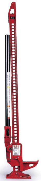Домкрат реечный Hi-Lift, 2,1 т, высота подъема 1200 ммHL485Домкрат реечный Hi-Lift изготовлен из чугуна и стали. Это универсальный инструмент, способный выручить практически в любой ситуации. Особенно он незаменим при отсутствии в оборудовании внедорожника штатной лебедки, и при одиночных поездках, когда приходится рассчитывать только на свои силы. При помощи реечного домкрата Hi-Lift вы сможете вытащить вытащить свой внедорожник практически из любой колеи, оврага, снега или грязи. Характеристики: вес: 12.8 кг;высота: 122 см;нагрузка: 2113 кг;тяговое усилие: 2268 кг;высота подьема: 1200 мм.