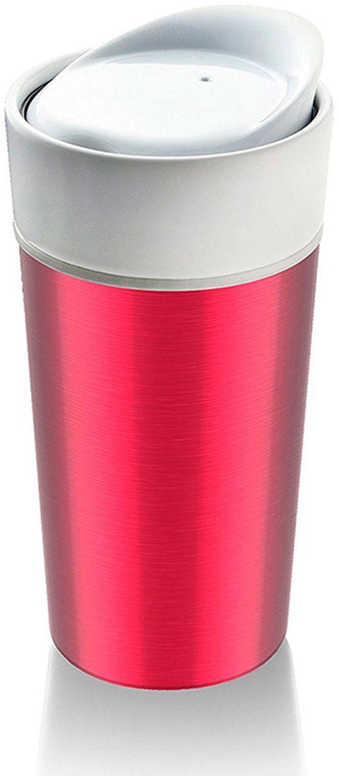 Термокружка Asobu Thermo Steel, цвет: розовый, 400 млCS14 metallic-fuchsiaAsobu – бренд посуды для питья, выделяющийся творческим, оригинальным дизайном и инновационными решениями.Asobu разработан Ad-N-Art в Канаде и в переводе с японского означает «весело и с удовольствием». И действительно, только взгляните на каталог представленных коллекций и вы поймете, что Asobu - посуда, которая вдохновляет!Кроме яркого и позитивного дизайна, Asobu отличается и качеством материалов из которых изготовлена продукция – это всегда чрезвычайно ударопрочный пластик и 100% BPA Free.За последние 5 лет, благодаря своему дизайну и функциональности, Asobu завоевали популярность не только в Канаде и США, но и во всем мире!Нержавеющая сталь и керамика – сочетание функциональности со стилем!Посмотрите, какие возможности скрываются за такими простыми формами!Термостакан Asobu Thermo steel имеет трехслойные стенки. Первый слой, который мы видим - нержавеющая сталь. Следующий слой - силикон. И третий - это традиционная керамика. Крышка термостакана имеет резиновую прокладку, которая позволит не только сохранить тепло дольше, но и плотно закрыть стакан. Поэтому он прекрасно подойдет для активных и вечно куда-то спешащих людей!Особенности:450 мл.Тройные стенки стакана: нержавеющая сталь, каучук, керамика.Керамическая крышка с силиконовым уплотнением.Можно мыть в посудомоечной машине.