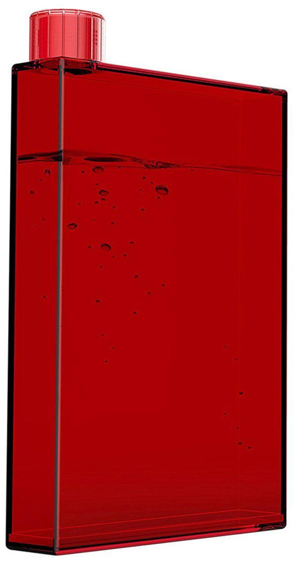 """Фляга Asobu """"My pad bottle"""", цвет: красный, 470 мл"""