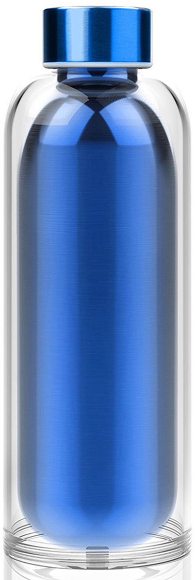Термобутылка Asobu Escape the bottle, цвет: голубой, 500 мл бутылка для воды puma shaker water bottle