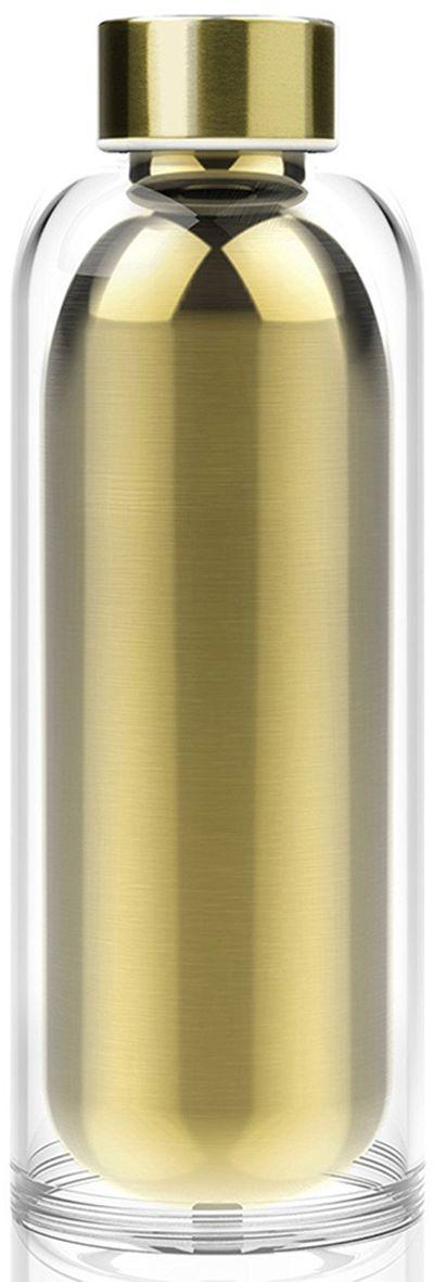 Термобутылка Asobu Escape the bottle, цвет: золотистый, 500 млSP02 champagneAsobu – бренд посуды для питья, выделяющийся творческим, оригинальным дизайном и инновационными решениями.Asobu разработан Ad-N-Art в Канаде и в переводе с японского означает «весело и с удовольствием». И действительно, только взгляните на каталог представленных коллекций и вы поймете, что Asobu - посуда, которая вдохновляет!Кроме яркого и позитивного дизайна, Asobu отличается и качеством материалов из которых изготовлена продукция – это всегда чрезвычайно ударопрочный пластик и 100% BPA Free.За последние 5 лет, благодаря своему дизайну и функциональности, Asobu завоевали популярность не только в Канаде и США, но и во всем мире!Как поместить одну бутылку в другую? Проще простого!Asobu создал коллекцию «Escape the bottle» не только, чтобы удивить Вас. Стальная бутылка с двойными стенками сохранит Ваш напиток холодным/горячим гораздо дольше. Акриловая оболочка создана для удобного хранения и переноски, тому же это очень красиво и необычно!Бутылка Asobu Escape the bottle идеальна для повседневного использования. Бутылка поставляется в картонной упаковке. Особенности:Нержавеющая сталь, двойные стенки.Акриловая оболочка снаружи. Ударопрочная.BPA FREE (материал, из которого изготовлено изделие, не содержит Бисфенол А).Можно мыть в посудомоечной машине.500 мл.