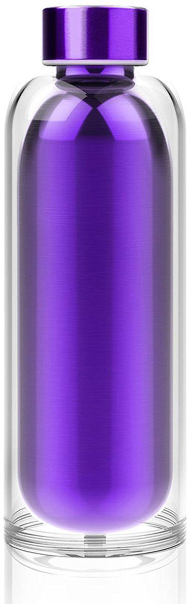 Термобутылка Asobu Escape the bottle, цвет: фиолетовый, 500 мл бутылка для воды puma shaker water bottle