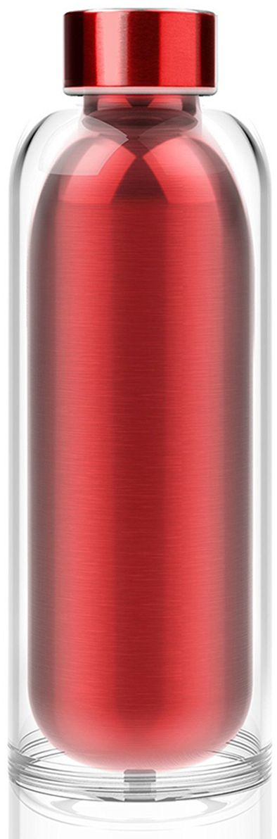 Термобутылка Asobu Escape the bottle, цвет: красный, 500 мл бутылка asobu ice t 2 go цвет фиолетовый 400 мл