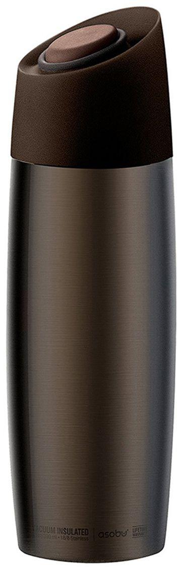 Термокружка Asobu The 5Tth Avenue, цвет: коричневый, 390 млV800 brownAsobu – бренд посуды для питья, выделяющийся творческим, оригинальным дизайном и инновационными решениями.Asobu разработан Ad-N-Art в Канаде и в переводе с японского означает «весело и с удовольствием». И действительно, только взгляните на каталог представленных коллекций и вы поймете, что Asobu - посуда, которая вдохновляет!Кроме яркого и позитивного дизайна, Asobu отличается и качеством материалов из которых изготовлена продукция – это всегда чрезвычайно ударопрочный пластик и 100% BPA Free.За последние 5 лет, благодаря своему дизайну и функциональности, Asobu завоевали популярность не только в Канаде и США, но и во всем мире!Получайте удовольствие от утреннего кофе по дороге на работу! The 5Tth avenue coffee tumbler – создана для этого. Стильная и современная кружка, которая не прольет ни капли Вашего напитка мимо даже в дороге.Кружки представлены в четырех классических цветах с шикарным матовым покрытием. Простые и удобные в использовании. The 5Tth avenue coffee tumbler идеально вписывается в любой стандартный подстаканник. Система открытия и блокировки расположена на крышке сверху, просто нажмите на кнопку и можно пить. Кружка держит тепло в течение 6 часов, а холодным напиток поддерживается в течение всего дня.Особенности:390 мл.Сохраняет напиток холодным в течение 24 часов.Сохраняет напиток горячим до 6 часов.Нержавеющая сталь.Двойные стенки с вакуумной изоляцией.Система блокировки.
