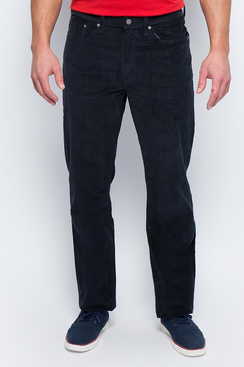 Джинсы мужские Levi's® 514, цвет: темно-синий. 0051409090. Размер 31-34 (48-34) семировые джинсы мужские с низкой талией личности дыры ковбойские штаны для ног 19416241111 ковбой темно синий 31