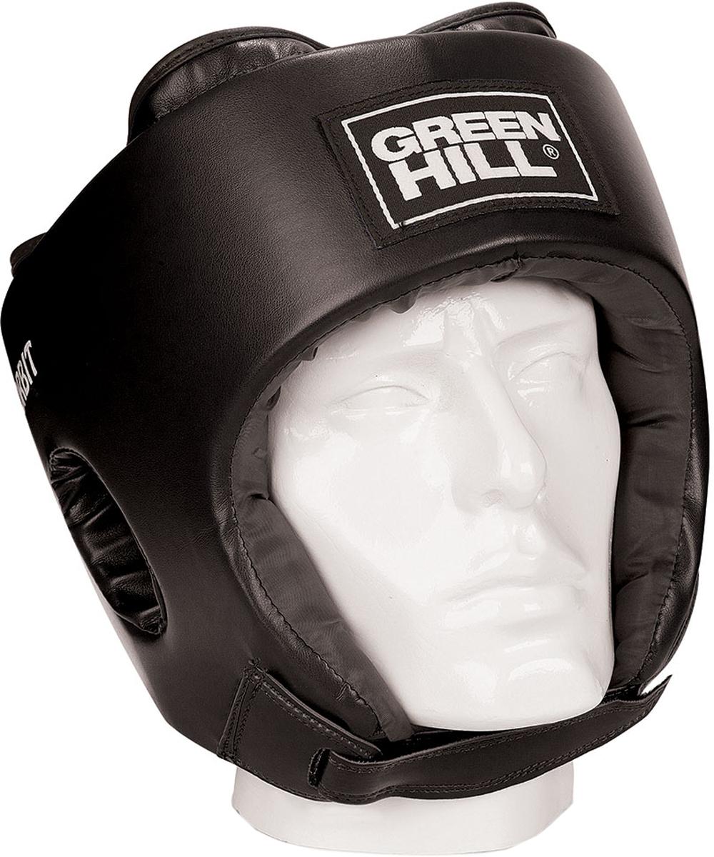 Шлем боксерский Green Hill  Orbit , детский, цвет: черный. Размер L - Бокс