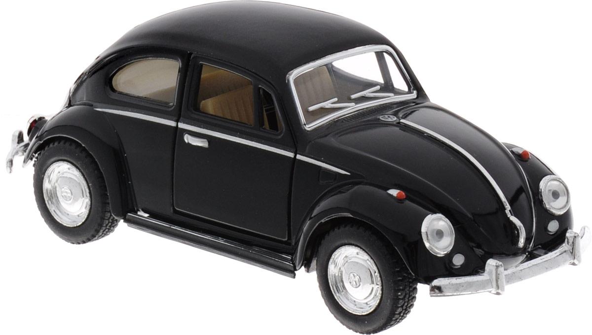 maisto радиоуправляемая модель volkswagen beetle цвет желтый Kinsmart Модель автомобиля 1967 Volkswagen Classical Beetle цвет черный
