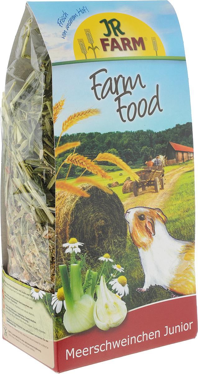 Корм JR Farm Junior для молодых морских свинок, 750 г игровые наборы tomy britains big farm фермерский прицеп со свинками