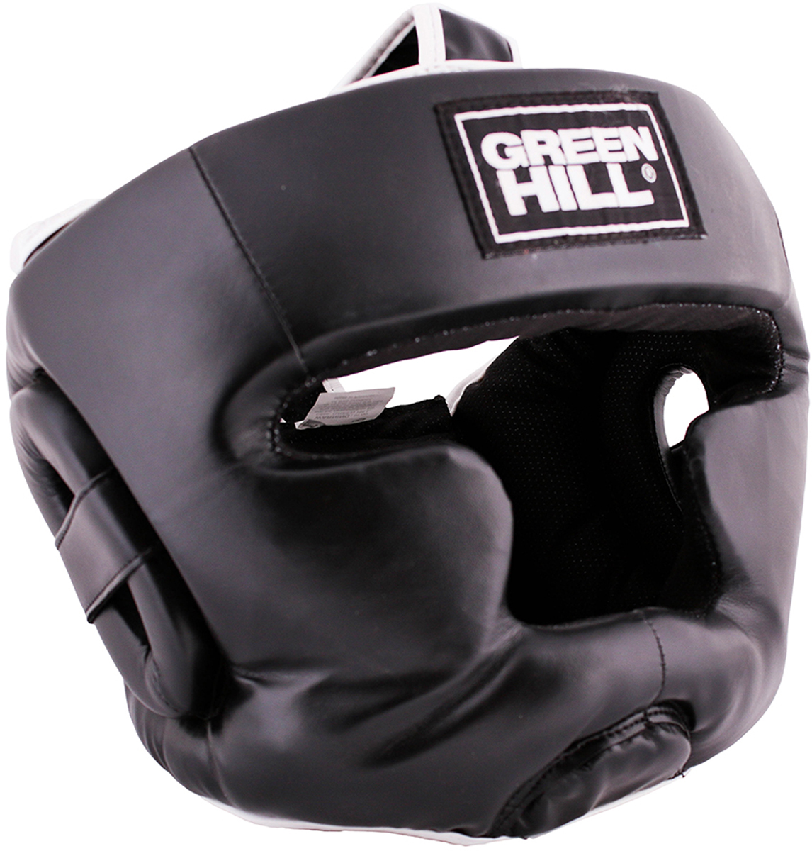 Шлем боксерский Green Hill  Warrior , цвет: черный. Размер L - Бокс